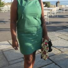 Self draft denim dress